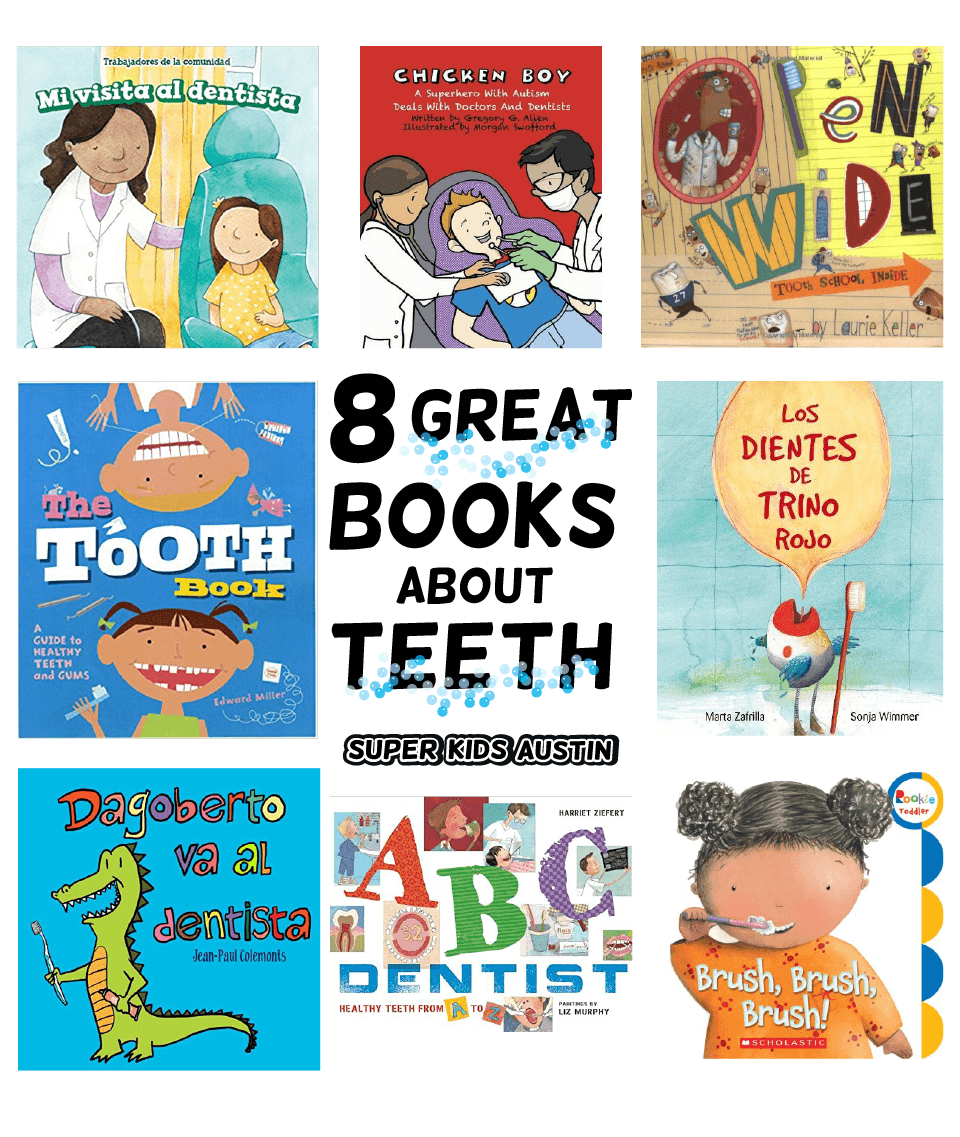 Eight Great Books about Teeth and the Dentist