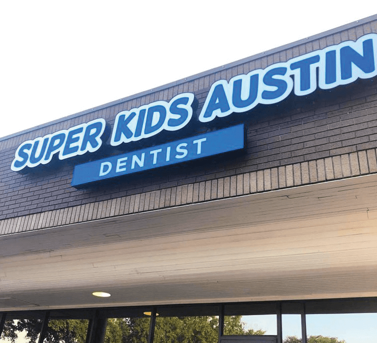 photo of our kids dental office storefront on Riverside Dr.